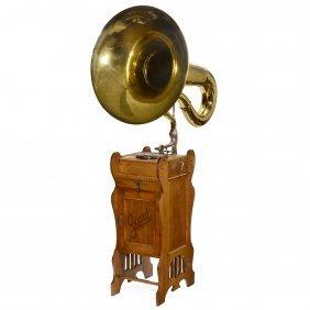 """gigant"" Large Saloon Gramophone, C. 1910"