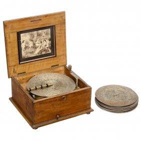 Polyphon No. 42n Disc Musical Box, C. 1900