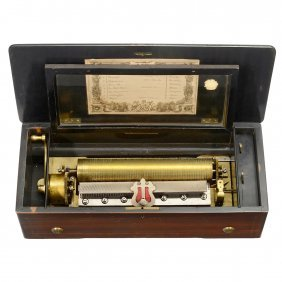 Cylinder Musical Box, C. 1890