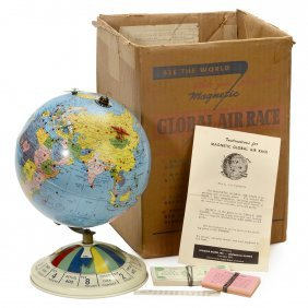 """magnetic Global Air Race"" Toy By Replogle Globes Inc.,"