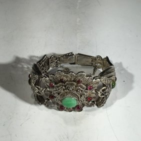 Chinese Old Silver Bracelet