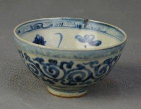 A W & B Heard-shaped Bowl, Ming Dynasty