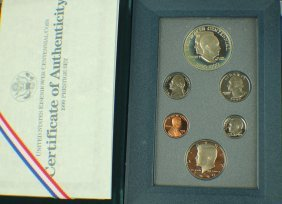 A Set Of American Memento Coins