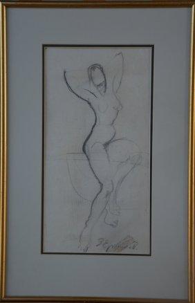 V. Ermilov 1894-1968 ( Russian / Ukrainian ) Nude