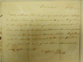 Aaron Burr Autograph