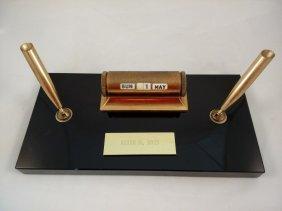 Vintage Sheaffer's Fountain Pen Desk Set