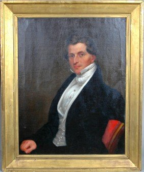 RARE DELAWARE FEDERAL PORTRAIT OF JEFFERS, CIRCA 18