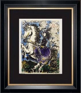 Toros Y Toreros P.37 - Picasso 1959'