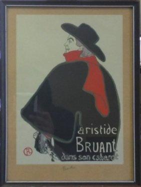 Aristide Bruant - Toulous Lautrec