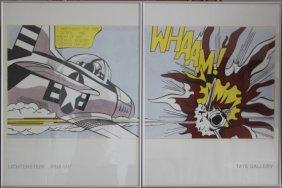 """""""whaam!"""" By Roy Lichtenstein"""