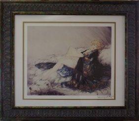 Silk Robe 1926' - Louise Icart