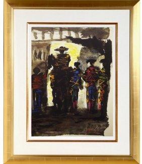Toros Y Toreros, Paseillo I - Picasso