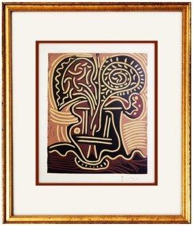 Flower Vase - Pablo Picasso