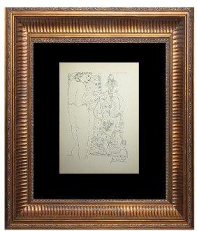 Modele Et Sculpture Surrealiste - Picasso