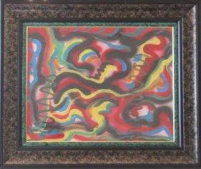 Untitled Original Painting - William Verdult