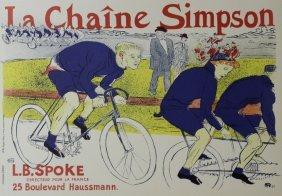 La Chain Simpson - Toulouse Lautrec