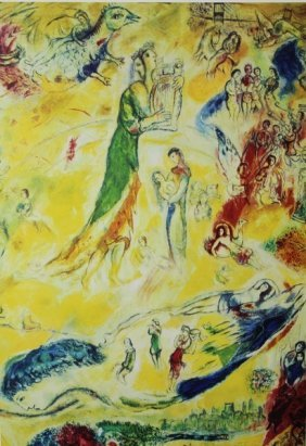 The Source Of Music - Marc Chagall