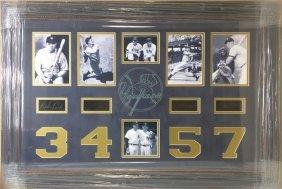 Ny Yankees - Greatest Players Memorabilia