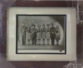 Abbott & Costello - Authentic Signed Photo