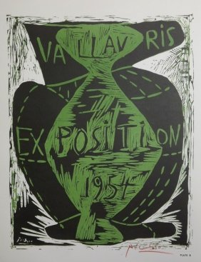 Exposition Vallauris 1954' - Picasso