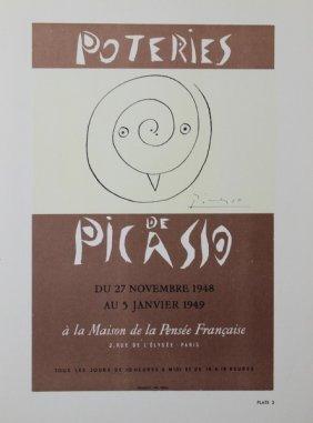 Poteries De Picasso - Pablo Picasso