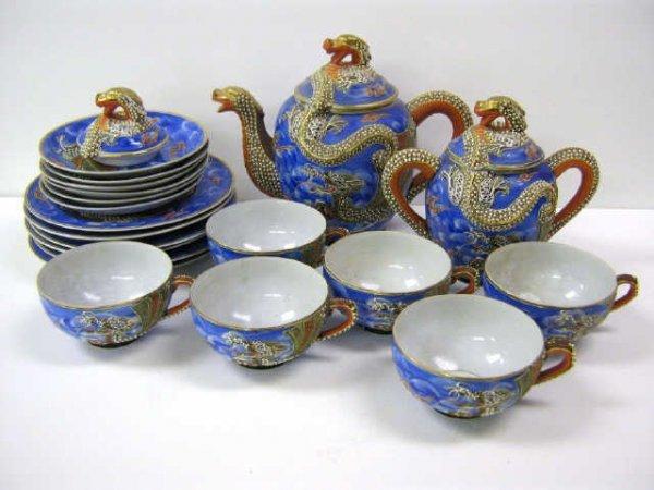 Geisha girl set tea