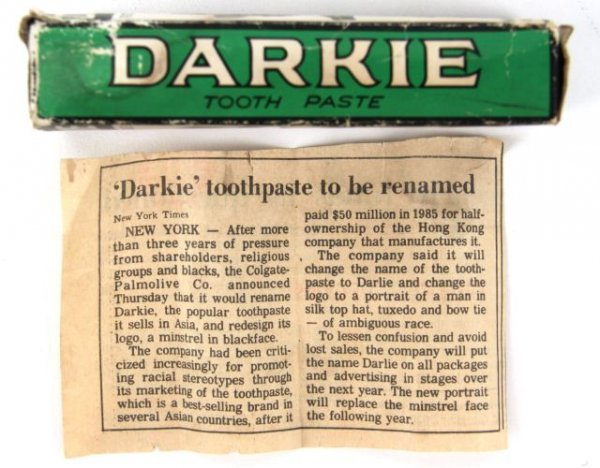 darkie toothpaste colgate Mouth jazz toothpaste, aka darkie toothpaste and black face toothpaste for more information about darkie toothpaste, see colgate's.