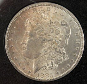 1883CC CARSON CITY GSA MORGAN SILVER DOLLAR