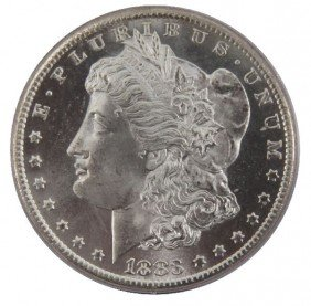 1883CC PCGS MS64PL OGH MORGAN SILVER DOLLAR