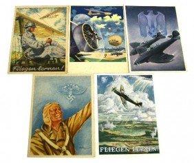 WWII THIRD REICH PROPAGANDA POSCARD LOT LUFTWAFFE