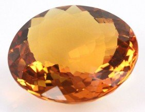GOLDEN ORANGE CITRINE 284.5 CT