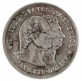 1900 SILVER LAFAYETTE DOLLAR COMMEMORATIVE COIN