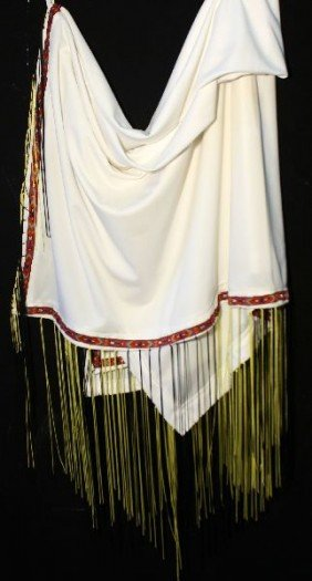 NATIVE AMERICAN WOMEN'S FANCY DANCER SHAWL