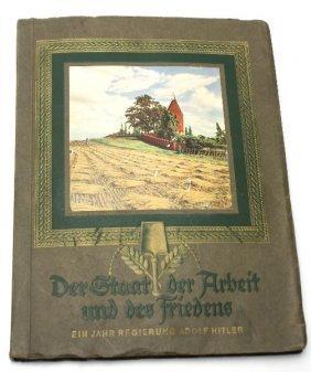1934 DER STAAT DER ARBEIT UND DES FRIEDENS