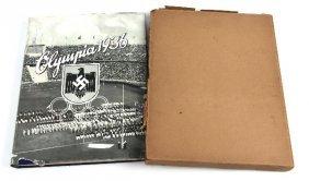 1936 BERLIN OLYMPICS CIGARETTE CARD ALBUM IN BOX