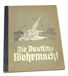 DIE DEUTSCH WEHRMACHT CIGARETTE ALBUM