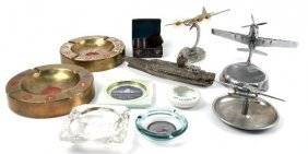 COLLECTION OF MILITARY & AVIATION SOUVENIRS