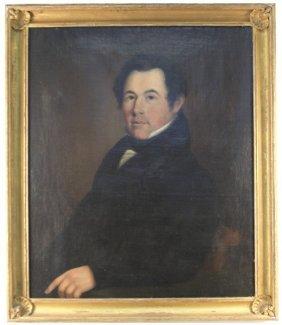 PORTRAIT OF 19TH CENTURY GENTLEMAN