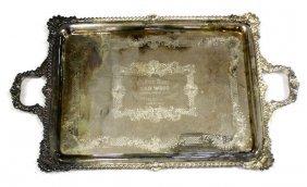 1931 GAR WOOD LARGE PRESENTATION PLATTER