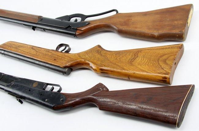 THREE BB GUNS CROSMAN V-350 DAISY MO 96 MO 25 : Lot 3283
