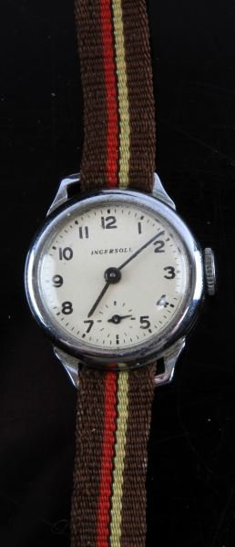 Ladies Vintage Ingersoll Watch For Military Use