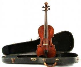 Vintage Violin With Case Maggini Copy