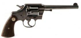 Colt Police Da .38 Caliber Revolver