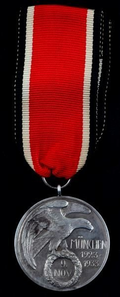 Nsdap Blood Order Medal Type Ii W Box Wwii German