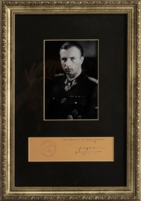 Wwii German Ss General Hermann Fegelein Photo