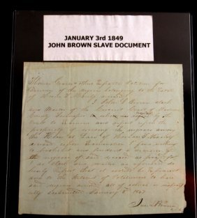 Tennessee Clerk & Master Slave Document 1849
