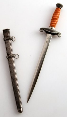 Larger Miniature Heer Army Dagger Made By Alcoso