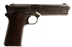 Colt Patent 1905 Semi Auto Pistol .45 Cal Holster