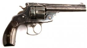 Antique Smith & Wesson .44 Caliber Da Revolver