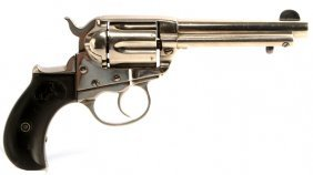 Colt M1877 Lightning Nickel Plated Revolver .38